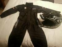 boys girls mx motocross gear rst suit wulfsport helmet dirt bike pit