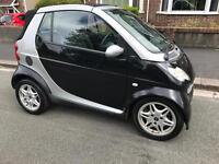 Smart Passion softouch Convertable 600cc Petrol. 12 MONTHS MOT