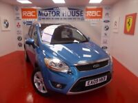 Ford Kuga TITANIUM TDCI 2WD(SAT NAV) FREE MOT'S AS LONG AS YOU OWN THE CAR!!! (blue) 2009