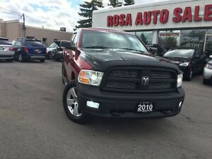 2010 Dodge Ram 1500 4WD Quad Cab  SLTREMOTE START SUNROOF PW PL