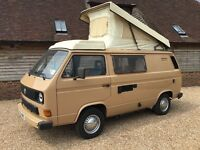 LEFT HAND DRIVE CAMPER IN EXCEPTIONAL CONDITION.