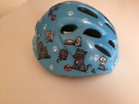 Childs specialized bicycle helmets (blue and pink colours available)