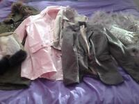 Bundle of women's size 8-10 jackets and coats