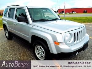 2013 Jeep Patriot 4WD *** CERTIFIED ACCIDENT FREE ***