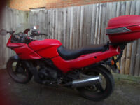 Kawasaki Gpz500 Motocycle, A2 Compliant