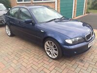 2004 BMW 320D SE PX TO CLEAR GOOD CLEAN CAR HPi CLEAR