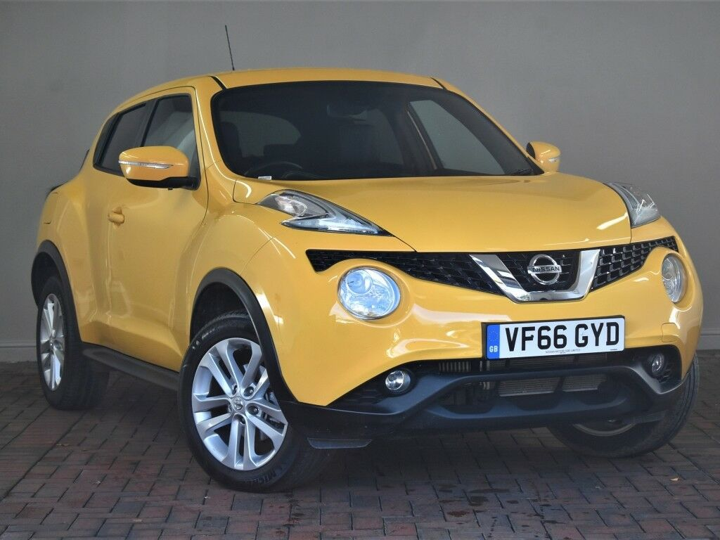 Nissan Juke 1 5 Dci N Connecta 5dr Yellow 2017 In Winsford