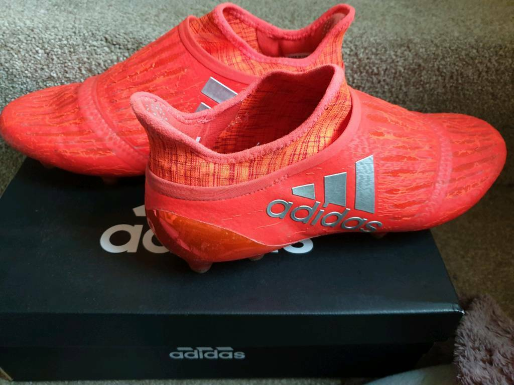 ever popular utterly stylish excellent quality ADIDAS X16+ PURECHAOS FG Football Boots Size 8 | in ...