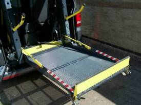 T5 transporter disabled electric ramp