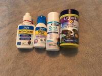 Fish tank chemicals