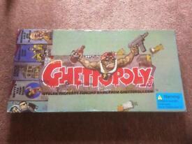 Ghettopoly Board Game Complete RARE