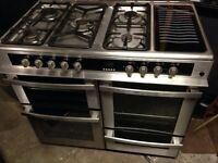 Belling range gas cooker and electric ovens 100cm
