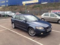 Volvo v50 58 plate 1.6 diesel new shape very good condition