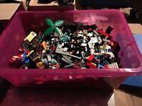 Lego massive box with loads of mini figures included
