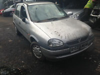 1998 Vauxhall Corsa 1.4 Breeze 5dr Silver manual 147 82l BREAKING FOR SPARES