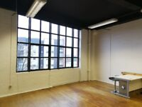 Exclusive and desirable Studio/ workshop/ creative space