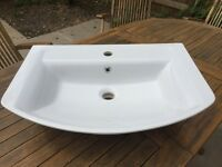Hudson Reed Alton Basin with full pedestal - Unused