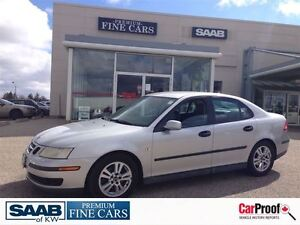 2005 Saab 9-3 ACCIDENT FREE Linear Heated Leather Alloy w