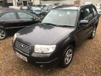 SUBARU FORESTER 2.0 X 5d 158 BHP NEW MOT (grey) 2007