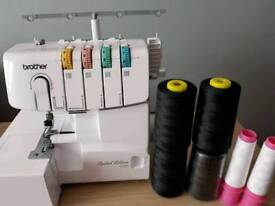 Brother Overlocker, as new condition *still with warranty*