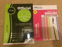 National 5 English Books - Hodder Gibson / Leckie & Leckie