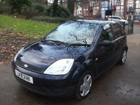 Ford Fiesta 1.4 TD Zetec 5dr£1,499 £30 TAX, NEW MOT, FULL S/H 2004 (53 reg), Hatchback