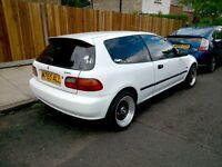 Honda Civic 1.5 Auto EG4 Genuine Low 47,000 Miles BBS SPLIT RIMS MODIFIED NOT EK9 EK4 EG9 TYPE R VR6