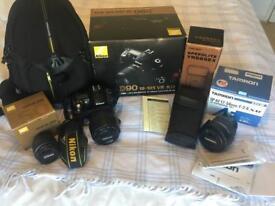 Digital SLR Camera NikonD90 18-105VR Kit AF -S DX Nikkor 18-105mm f3,5-5,6G