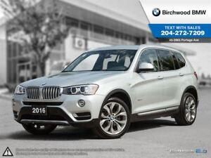 2016 BMW X3 Xdrive28i BMW On-Board Navigation!