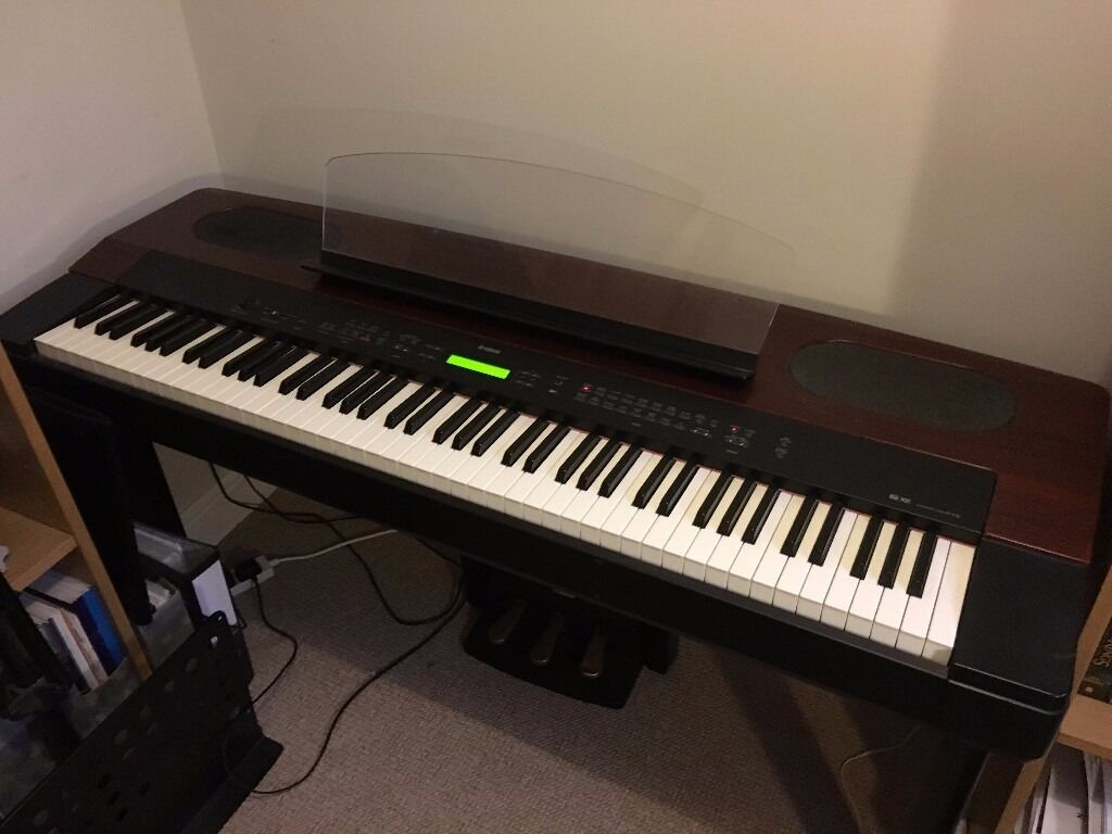 yamaha electric digital piano keyboard pf 500 in. Black Bedroom Furniture Sets. Home Design Ideas