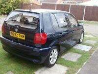 1998 VW POLO 1.4 BLUE FULL MOT LOWERED ALLOYS 65000 MILES