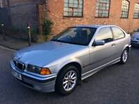BMW 318IS COMPACT AUTOMATIC ** FULL BLACK LEATHER ** £675.00 **