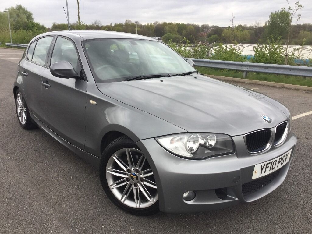 2010 bmw 1 series 118d 2 0 diesel m sport 143 bhp 5 doors in gunmetal grey in manchester city. Black Bedroom Furniture Sets. Home Design Ideas