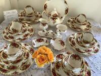 Royal Albert dinner and tea set