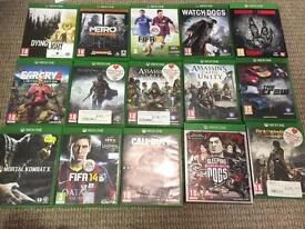 Xbox one games bundle or separate. Fifa, assassins Creed, dying light and more