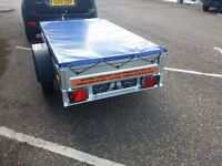 "Trailer cars (6' x 4' x 1,2"") and cover - £400 inc vat"