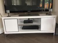 WHITE GLOSS TV UNIT/STAND