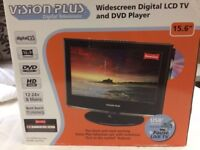 Vision Plus TV & built in DVD player idea for small bedroom or Caravan/Motorhome