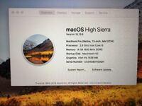 MacBook Pro 13inch mid 2014 128GB