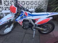 Crf 450 road regd brand new condition
