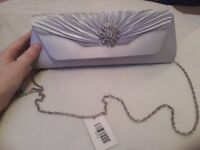 Women's sliver prom bag