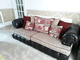 DFS Amazing 6 sofa suite or two 3 sofa suites including 4 swivel chairs