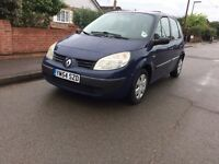 2005 Renault Scenic 1.5dci, Low Mileage, 12 months MOT, great condition