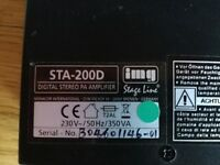 IMG Stageline STA-200D stereo amplifier