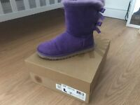 Genuine purple ugg boots