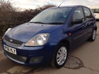 2006 56 REG 1.25 FORD FIESTA STYLE,1 YEAR MOT,ONLY 61k,9 SERVICE STAMPS,2 OWNERS