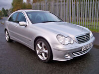 Mercedes C-Class C180 Kompressor Avantgarde SE (FSH with Full Leather, Cruise, Alloys)