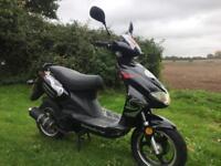 50cc Lexmoto moped