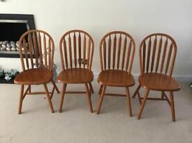 Set of 4 Dining Chairs £45 ono