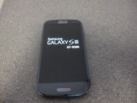 Samsung Galaxy S3 16gb unlocked Pebble blue works perfect good condition